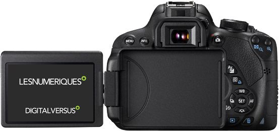 Canon D700D dos test review avis