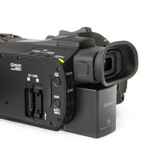 Canon HF-G30 test review carte