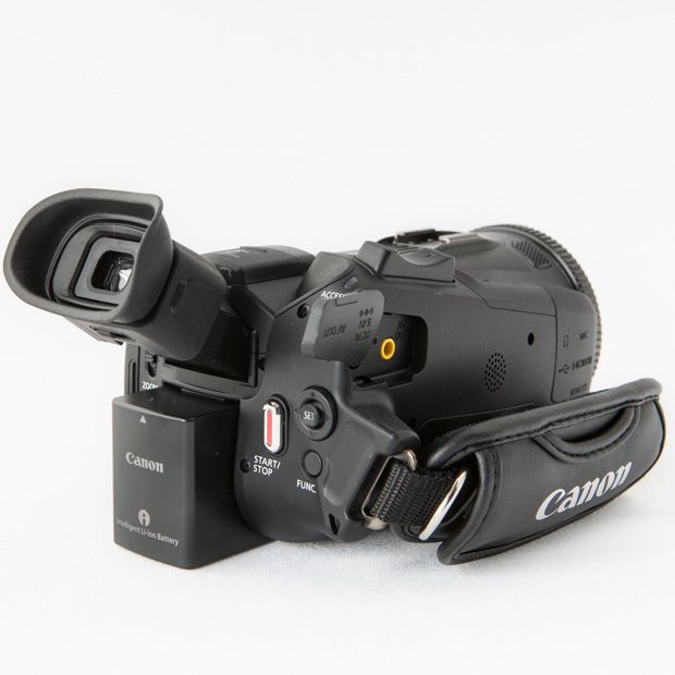 Canon HF-G30 test review vue de dos