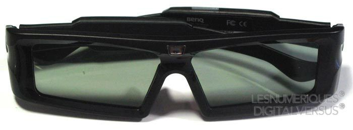 BenQ W1500 lunettes
