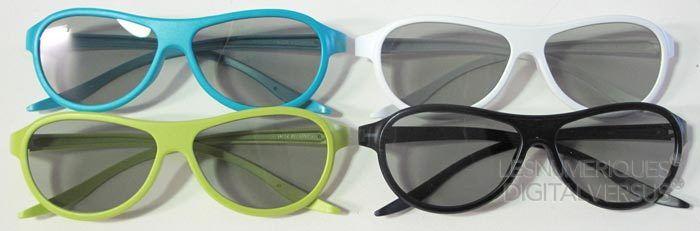 La740s lunettes 3d