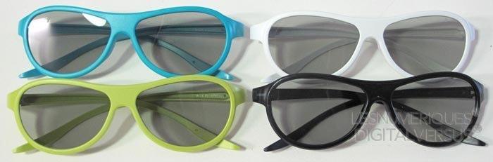 LG 55LA620S lunettes