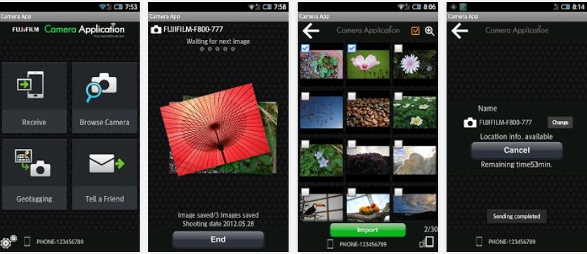 Fuji Camera App
