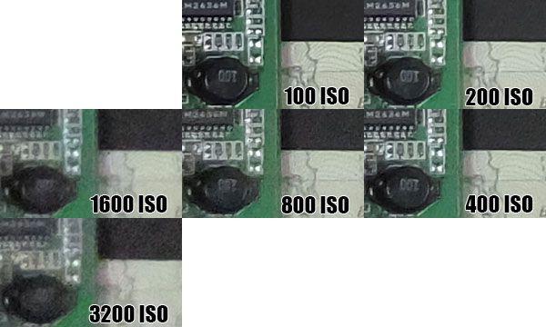 F900EXR ISO