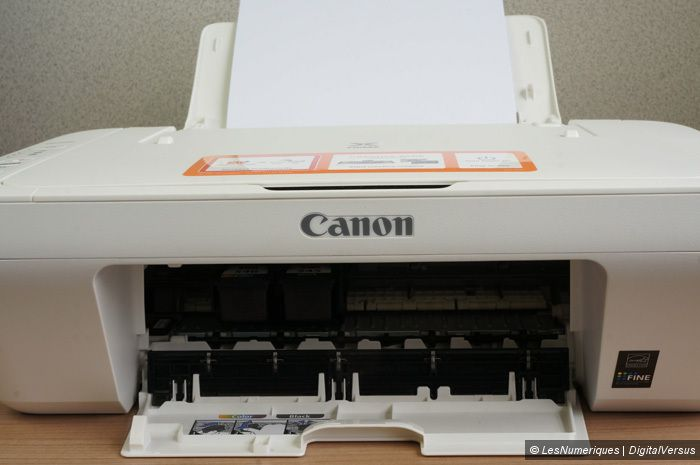 canon pixma mg2550 test complet imprimante les num riques. Black Bedroom Furniture Sets. Home Design Ideas