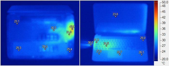 Temperature - HP Envy TouchSmart 15