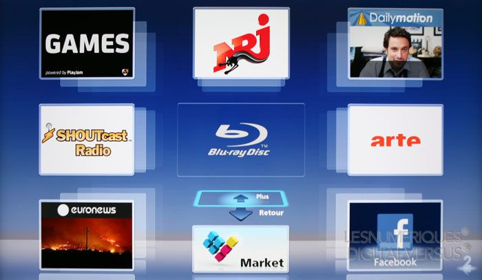 DMP BDT330 smart tv
