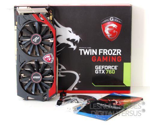 Msi geforce gtx 760 gaming oc box s