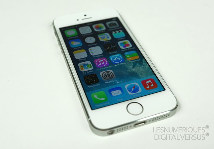 Apple iphone 5s accueil