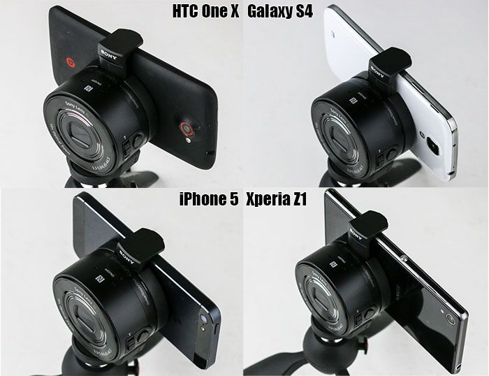 QX10 sizecomparison
