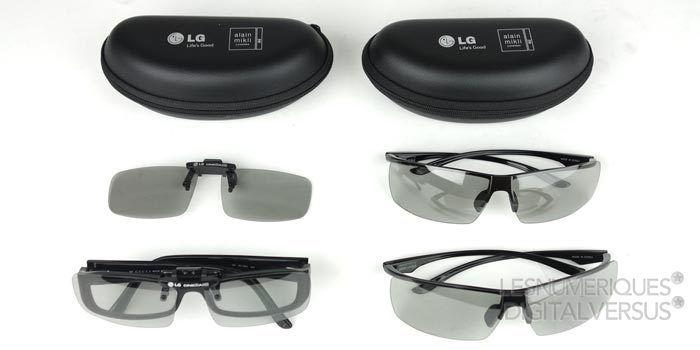 LG Oled 55EA980V lunettes3D