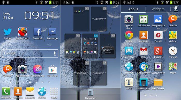 Test Samsung Galaxy Trend