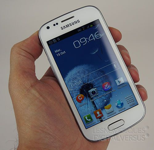 Test Samsung Galaxy Trend