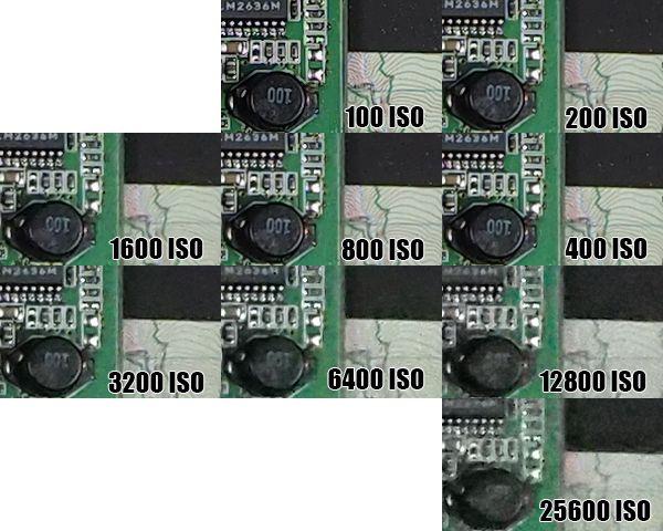 Montée ISO Olympus E-M1