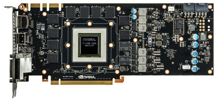 NVIDIA GeForce GTX 780Ti PCB Front s