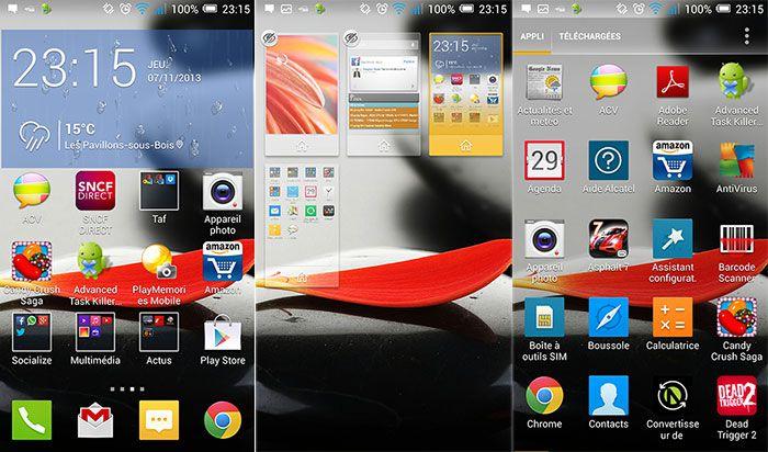 Test du Alcatel One Touch Idol X