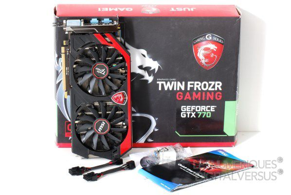 MSI N770 Gaming OC box s