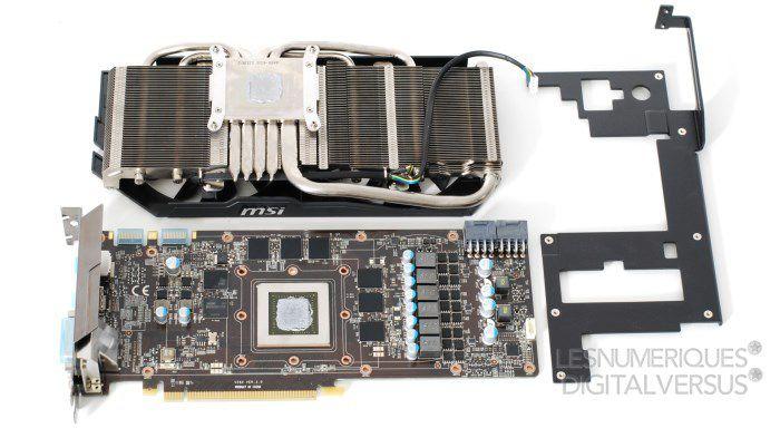 MSI N770 Gaming OC pcb s