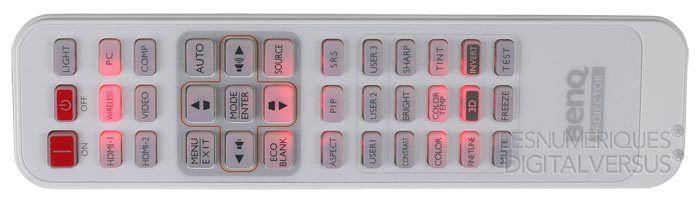 BenQ W1300 telecommande