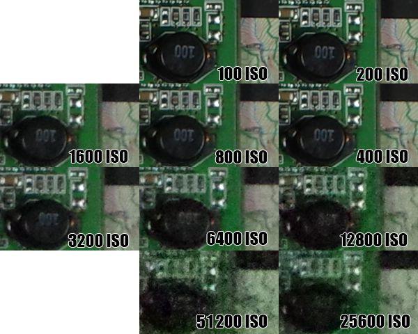 Ricoh Pentax K-3 test review montée ISO