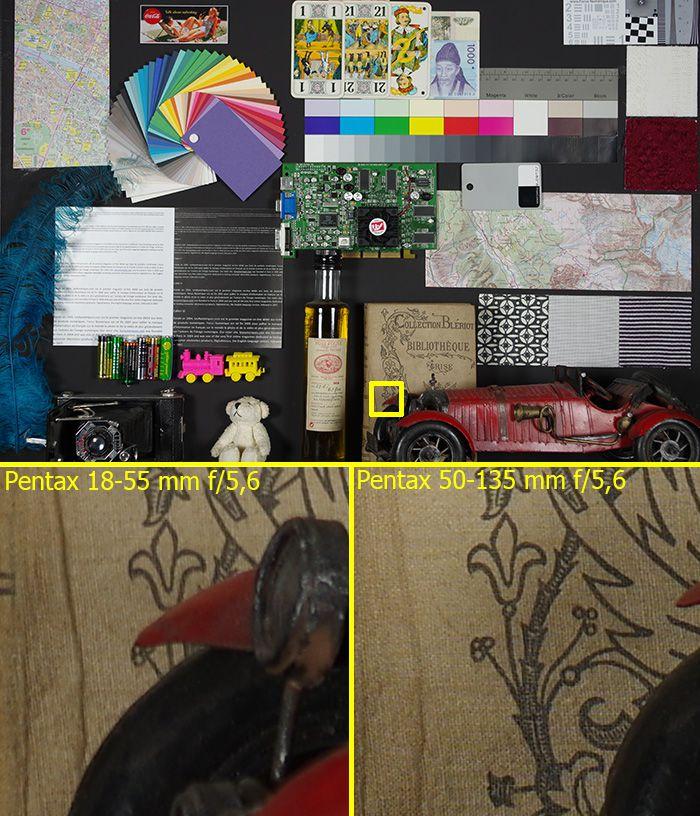 Pentax K-3 comparaison