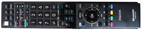 Sharp LC 60LE752 tel