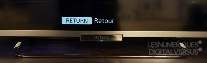 Sony KDL 50W656 pied