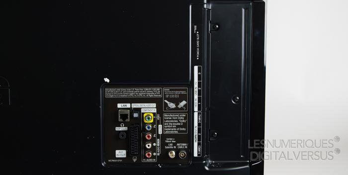 LG LA660S connectique