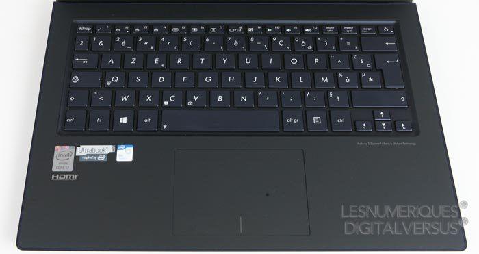 UX301 clavier