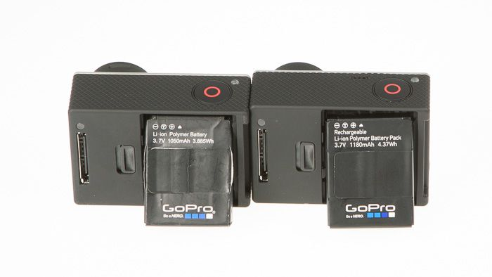 GoPro Hero3+ batteries