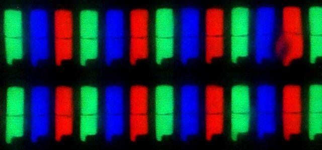 Q2720PQU sous pixels