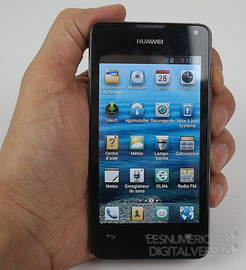 Test du Huawei Ascend Y300