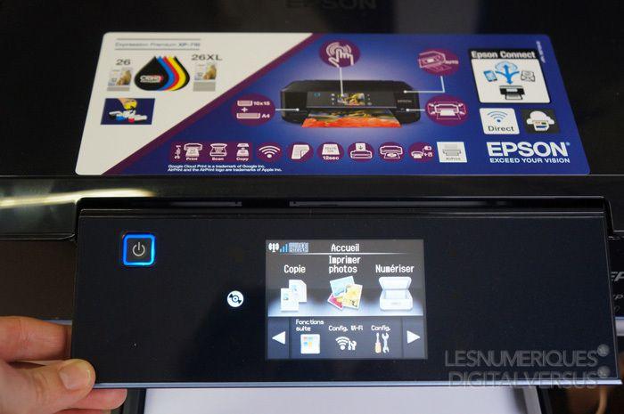 Ecran amovible epsonXP710
