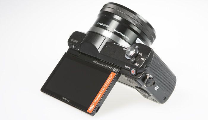 Sony A5000 tilt