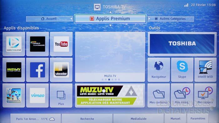 Toshiba 50L7335 smarttv