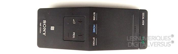 Sony 55W955 telecommande2