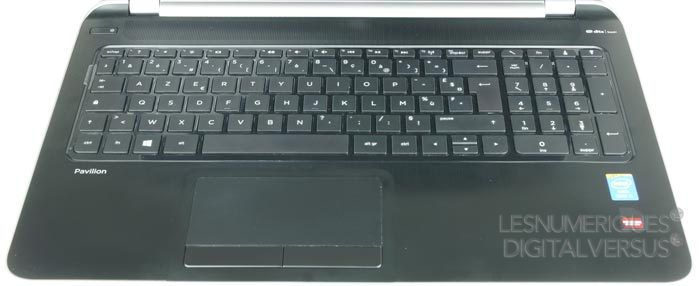 HP clavier