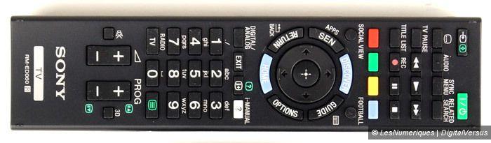 KDL 50W805B telecommande1