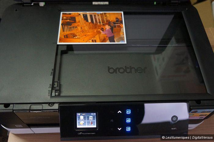 Vitre scanner
