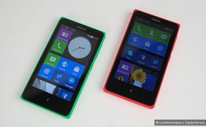 Test du Nokia X
