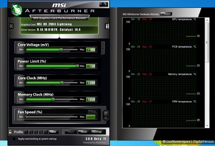 Msi r9 290 lightning afterburner