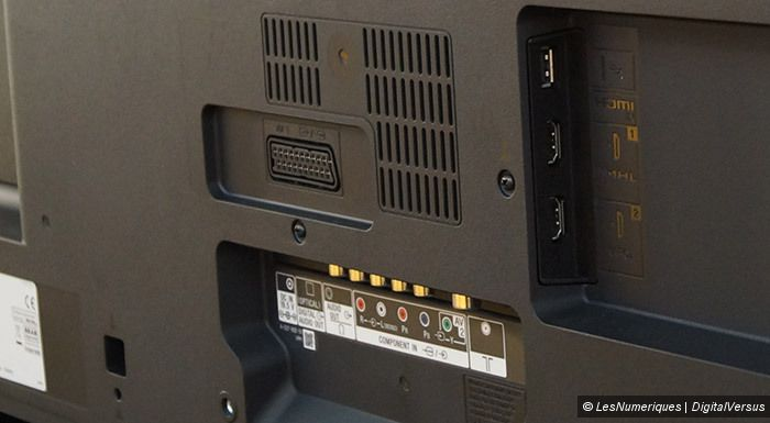 Sony R480 connectique