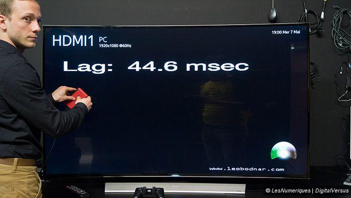 Samsung HU8500 UHD TV inputlag