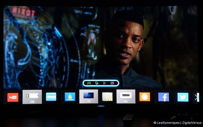 Samsung HU8500 UHD TV smarttv