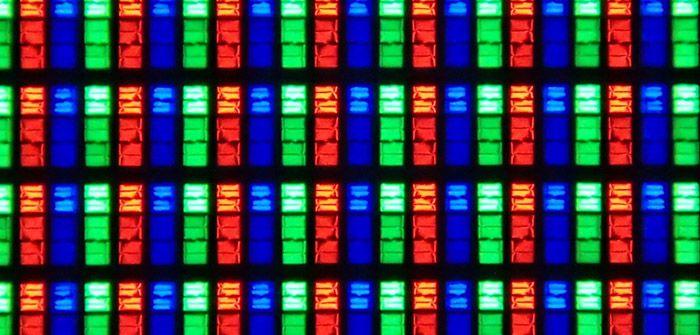 Samsung HU8500 UHD TV sous pixels