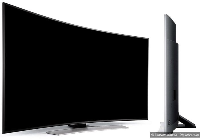 Samsung HU8500 UHD TV vues