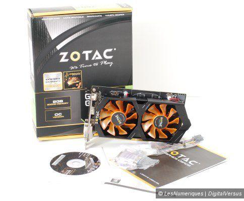 Zotac gtx 750 ti amp oc box