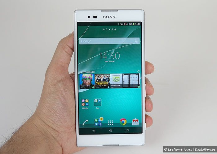 Test du Sony Xperia T2 Ultra