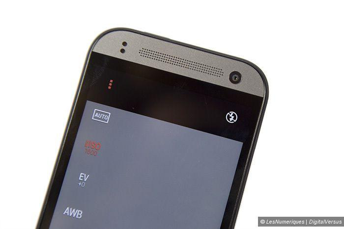 HTC Onemini 2 capteuravant