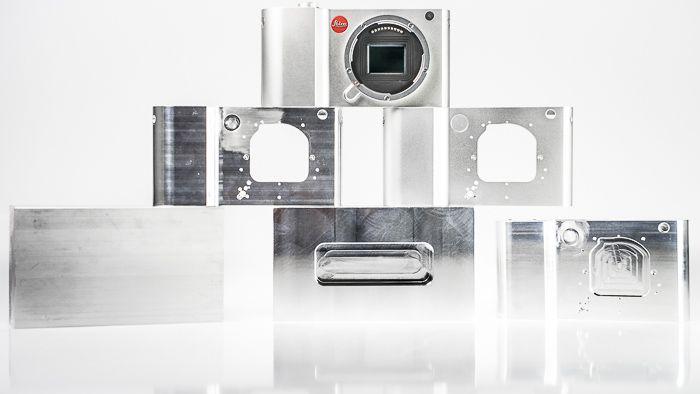LeicaT CNC machining steps